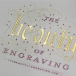 FREE Copy of The Beauty of Engraving Book