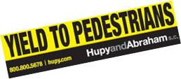 I Yield To Pedestrians