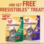 FREE Bag of Meow Mix Irresistibles Cat Treats