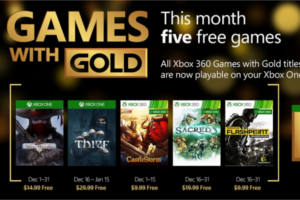 Games with Gold December 2015