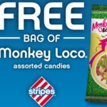 FREE Monkey Loco Candies at Stripes Stores