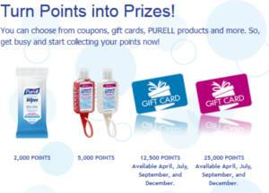 Purell Rewards Program