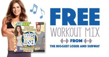 The Biggest Loser and SUBWAY Workout Mix