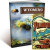 Yellowstone Sticker and Wyoming Travel Guide
