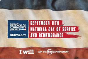 FREE 9/11 Day of Service Stickers and Posters