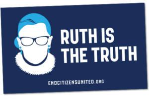 FREE Ruth Is The Truth Sticker