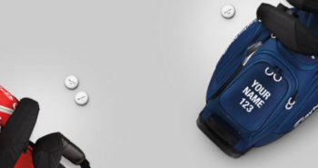 FREE Personalized Golf Bag Panel from TaylorMade