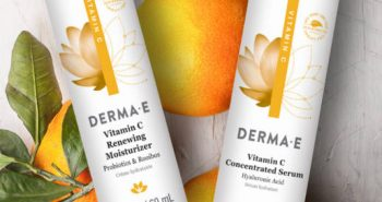 FREE Derma-E Vitamin C Renewing Moisturizer and Concentrated Serum Sample