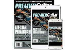 FREE Premier Guitar Magazine Subscription