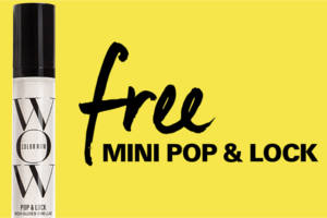 FREE Color Wow Mini Pop & Lock Hair Gloss