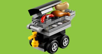 FREE LEGO Grill Mini Model Build at Lego Stores