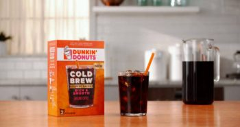 FREE Dunkin Donuts Cold Brew Coffee Sample Pack