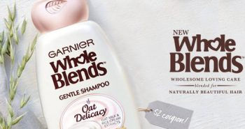 FREE Garnier Whole Blends Oat Delicacy Sample