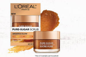 FREE Loreal Paris Pure-sugar Grapeseed Scrub Sample