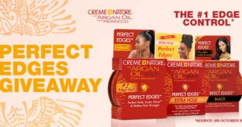 FREE Creme of Nature Perfect Edges Sample